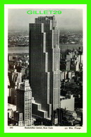 NEW YORK CITY, NY - ROCKEFELLER CENTER - Wm. FRANGE - PHOTO POST CARD - - New York City