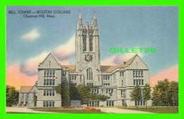 CHURCHILL HILL, MA - BELL TOWER, BOSTON COLLEGE -  PHOTO BY DAVID F. METZ - - Etats-Unis