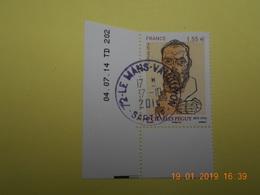 FRANCE 2014   YTN° 4898   CHARLES PEGUY (1873-1914)   TN Oblitéré  Daté - France