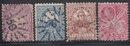 NSW 1888 - MiNr: 63-66  Wz7  Used - 1850-1906 New South Wales