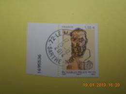 FRANCE 2014   YTN° 4898   CHARLES PEGUY (1873-1914)   TN Oblitéré  Numéroté - France