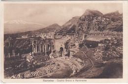 E1191 TAORMINA - TEATRO GRECO E PANORAMA - Other Cities