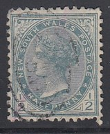 NSW 1891 - MiNr: 78  Wz7  Used - 1850-1906 New South Wales