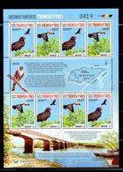 URUGUAY, 2018,BIRDS,S/S. MNH**NEW!! - Birds