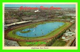 HALLENDALE, FL - GULF STREAM RACE COURSE ON U.S. No 1 - TRAVELK IN 1966 - GOLF STREAM CARD & DISTRIBUTING CO - - Etats-Unis