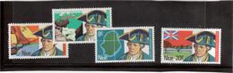M17 - NIUE - 149/152 ** MNH De 1974 - Découverte Par JAMES COOK Le 20 Juin 1774 - - Niue