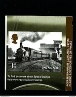 GREAT BRITAIN - 2014  LOCOMOTIVES OF WALES SELF ADHESIVE EX BOOKLET MINT NH - Ongebruikt