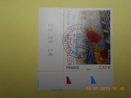 FRANCE 2014   YTN° 4901   KEITH HARING (1958-1990)   TN Oblitéré Daté - France