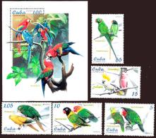 2864  Parrots -Perroquets - Birds - Oiseaux - 2005 - MNH - 3,25 - Parrots