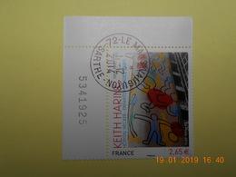 FRANCE 2014   YTN° 4901   KEITH HARING (1958-1990)   TN Oblitéré  Numéroté - France