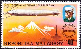 "Madagaskar - Luftschiff LZ-127 ""Graf Zeppelin"" über Japan (Mi.Nr.: 783) 1976 - Gest Used Obl - Madagascar (1960-...)"