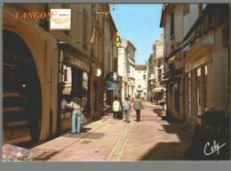 CPM 33 - Langon - La Rue Maubec - Langon