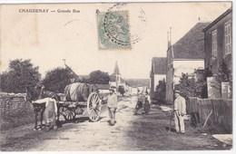 Saône-et-Loire - Chaudenay - Grande Rue - France