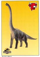 Dinosaures Jurassic Park Série Complète 12 Images La Vache Qui Rit Fromagerie Bel - Vieux Papiers