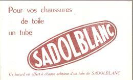 Buvard SOBOBLANC Pour Vos Chaussures De Toile Un Tube De SADOBLANC - Chaussures
