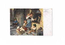 Cartolina - Postcard - Viaggiata - Sent - H.Kaulback - Beim Schumacher - Peintures & Tableaux