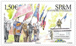 Saint Pierre & Miquelon 2018  - L'armistice Mnh - Nuevos