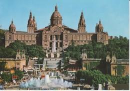 (BCN965) BARCELONA. PALACIO NACIONAL Y FUENTE MONUMENTAL ... UNUSED - Barcelona