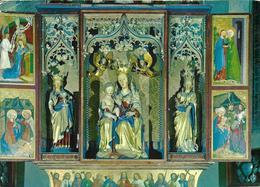 Madonna Di Campiglio M. 1550 - Dolomiti Di Brenta - Chiesa - Interno - Trittico - Gotico - Opera Di Michael Paker - Italia