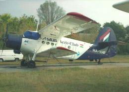 AIRPLANE * AEROPLANE * AIRCRAFT * ANTONOV AN-2 * HUNGARIAN AIRLINES * MALEV * DUNAKESZI * Reg Volt 0037 * Hungary - 1946-....: Ere Moderne