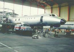 AIRPLANE AEROPLANE AIRCRAFT TUPOLEV TU-134 HUNGARIAN AIRLINES MALEV BUDAPEST FERIHEGY AIRPORT * Reg Volt 0069 * Hungary - 1946-....: Ere Moderne