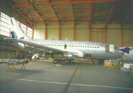 AIRPLANE AEROPLANE AIRCRAFT * BOEING 737 HUNGARIAN AIRLINES MALEV * BUDAPEST FERIHEGY AIRPORT * Reg Volt 0071 * Hungary - 1946-....: Ere Moderne