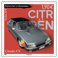 French Andorra 2018 - Citroën CX Mnh - Unused Stamps