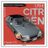 French Andorra 2018 - Citroën CX Mnh - Andorra Francesa