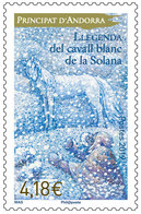 French Andorra 2018 - Llegenda Del Cavall Blanc De La Solana Mnh - Unused Stamps