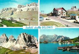Saluti Dalle Dolomiti - Passo Pordoi - Passo Falzarego - Passo Sella - Lago Di Misurina - Italia
