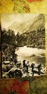 "Caucasus, ALPINISM ""mountaineer"" - OLD USSR Postcard 1953 - Alpinisme"