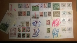 Vatikan - Lot Of 13 Air Mail Covers - Poste Aérienne