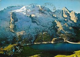 Dolomiti - Lago Fedaia - Marmolada M. 3340 E Gran Vernel M. 3205 - Italia