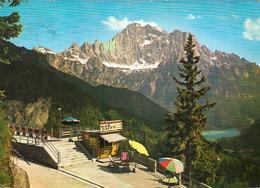 Dolomiti - Colle Di S. Lucia - Il Belvedere - Monte Civetta M. 3218 E Lago Di Alleghe (Bar Caffè Belvedere) - Italia