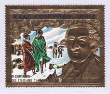 COMORES AERIENS N°  100 ** MNH Neuf Sans Charnière, TB (8239) 200 Ans Indépendance USA - 1976 - Comoros