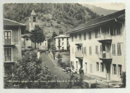 VALPRATO SOANA  - CASA ALPINA DELLA G.F. DI A.C. CASA MARIA SS. ASSUNTA    VIAGGIATA FG - Italie