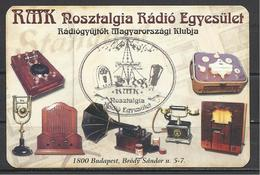Hungary, Radio Collectors Association, Old Phone, Tape Recorder,  Radio, Etc., 2009. - Calendari