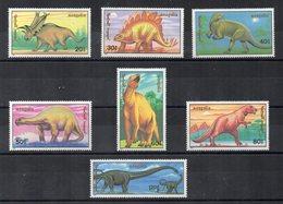 Mongolia - 1990 - Tematica Animali Preistorici - 7 Valori - Nuovi - Vedi Foto - (FDC13842) - Mongolia