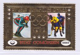 COMORES AERIENS N°  103 ** MNH Neuf Sans Charnière, TB (8240) Jeux Olympiques D'hiver Innsbruck - 1976 - Comoros