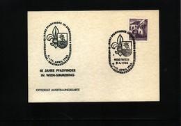 Austria / Oesterreich 1966 Scouting / Pfadfinder Interesting Cover - Scoutisme