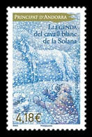 Andorra (FR) 2019 Mih. 845 Legend White Horse From Solana. Fauna MNH ** - Unused Stamps