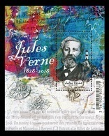 St. Pierre And Miquelon 2018 Mih. 1297 (Bl.34) Writer Jules Verne. Lighthouse MNH ** - St.Pierre & Miquelon