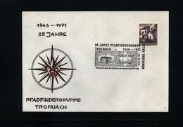 Austria / Oesterreich 1971 Scouting / Pfadfinder Interesting Cover - Scoutisme