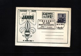Austria / Oesterreich 1973 Scouting / Pfadfinder Interesting Cover - Scoutisme