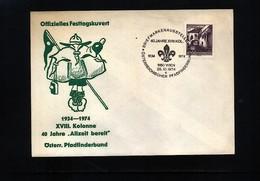 Austria / Oesterreich 1974 Scouting / Pfadfinder Interesting Cover - Scoutisme
