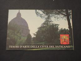 VATICANO - LIBRETTO 1993   TESORI D'ARTE - NUOVI(++) - Carnets