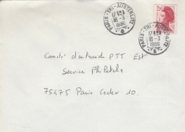 LSC 1986 - Cachets  PARIS  TRI  AUSTERLITZ  B - Matasellos Manuales
