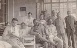 AK Foto Verwundete Deutsche Soldaten Mit Krankenschwester Im Lazarett - 1. WK (38827) - Weltkrieg 1914-18