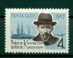 URSS 1963 - Y & T N. 2646 - Viktor Kingissepp - 1923-1991 UdSSR