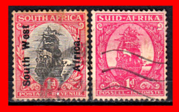 SUID AFRICA 2 SELLO AÑO  1926 - Oficiales